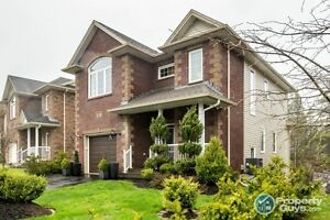 3 finished levels, 4 bed/3 bath, situated on a greenbelt.