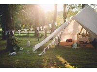 Bell Tent Hire Glamping - Weddings - Parties - Birthdays - Festivals - Events