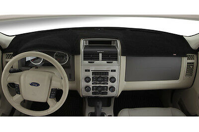 Black Original Carpet Covercraft DashMat Custom Fit Dash Cover for Select Ford Fiesta Models