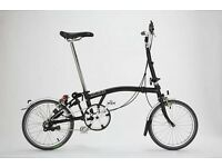 Brompton bike wanted