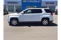 White 2011 GMC Terrain SLE-1 with 76,652 kms for $22,900!
