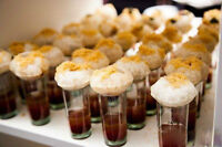 Designer Indian FOOD SHOOTERS & MARTINIS for your upcoming party