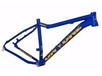brand new Fatty trail mtb frame,fork,front wheel & 2 x fat tyre bundle all in mint condition unused
