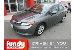 2012 Honda Civic LX AC - CRUISE - KEYLESS ENTRY!