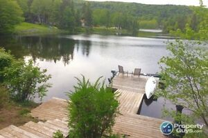 Park Like property, 2500 sf ranch style home. WATERFRONT