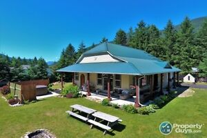 REDUCED!! Custom built home & in-law suite Glade, BC  198110