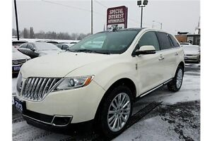 "2013 Lincoln MKX Base 20"" CHROME WHEELS !!! ACCIDENT FREE !!!"