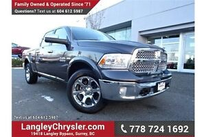 2016 RAM 1500 Laramie LOCALLY DRIVEN & ACCIDENT FREE