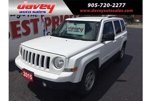 2015 Jeep Patriot Sport/North 4X4, MP3 INPUT, TINTED WINDOWS