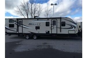 2016 Keystone BULLET 308BHS TRAVEL TRAILER TRAVEL TRAILER