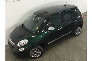 2015 Fiat 500L LOUNGE- TURBO! PANOROOF! HEATED LEATHER! NAV! Belleville Belleville Area image 2