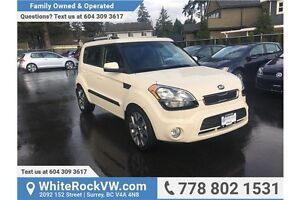 2013 Kia Soul 2.0L 4u ACCIDENT FREE, ONE OWNER, LOCALLY DRIVEN