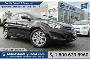 2016 Hyundai Elantra GL LOCALLY OWNED & ACCIDENT FREE