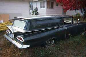 Wanted 1959 Chev sedan delivery