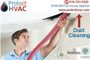 DUCT CLEANING - KW Ontario – $199.99 Full House Special London Ontario image 4