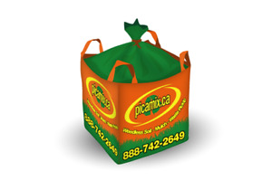 Dry Hardwood Firewood Delivered in Cubic Yard Bag to Your Drive