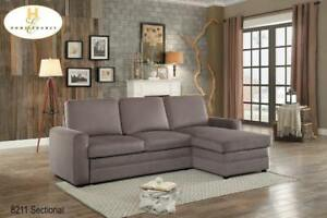 Sectional with Pull-out Bed on Sale (BD-2401)