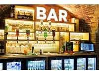 wombats Hostel London is hiring barkeepers (part time positions)