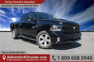 2014 RAM 1500 Sport W/ Navigation & Backup Camera