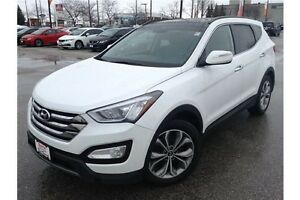 2014 HYUNDAI SANTA FE SPORT - LEATHER - GPS NAV - REARVIEW CAM
