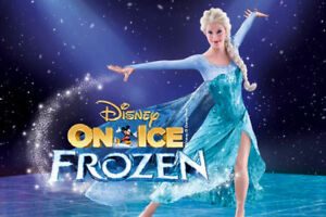 DISNEY ON ICE FROZEN TIX/SECTION 115/BELOW COST/SAVE $66.00