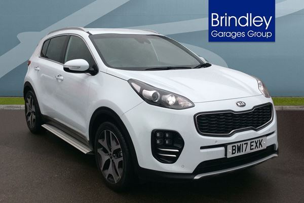 kia sportage 1 7 crdi isg gt line edition 5dr dct auto white 2017 in wolverhampton west. Black Bedroom Furniture Sets. Home Design Ideas