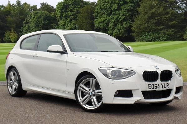 2014 bmw 1 series 2 0 125i m sport 3 dr hatchback white in chelmsford essex gumtree. Black Bedroom Furniture Sets. Home Design Ideas