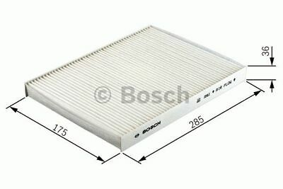 GENUINE OE BOSCH CABIN FILTER M2079 - HAS VARIOUS COMPATIBILITIES