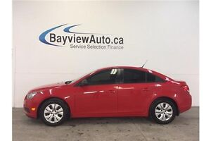 2014 Chevrolet CRUZE LS- 6 SPEED! A/C! ON STAR! GAS BUDDY!
