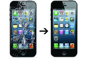 iPhone 5/5C/5S Glass Repair $59.99 Only..