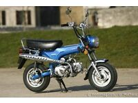 dx90 monkeybike st dax mini trail easy rider not honda step thru