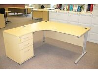 BIG OFFICE DESK AND CHAIR AVAILABLE NOW