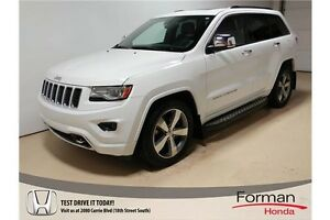 2014 Jeep Grand Cherokee Overland - Gorgeous! Diesel | Loaded