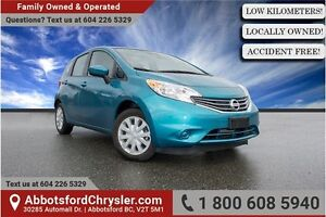 2015 Nissan Versa Note 1.6 SL Locally Owned!