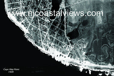 Cape May Point Nj Unique Aerial Gloss Prints From 1920 1933  1944