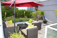 $3400(ORCA ref#1259M) Beautiful townhouse in Coal Harbour