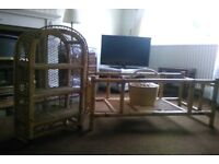 REDUCED PRICE. Furniture Package - Coffee Table, Display Unit, Hobby Basket.