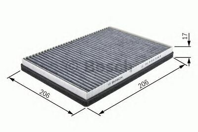 NEW ENGINE CABIN / POLLEN FILTER OE QUALITY REPLACEMENT BOSCH 1987432085