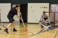 Floor hockey  18+    co ed