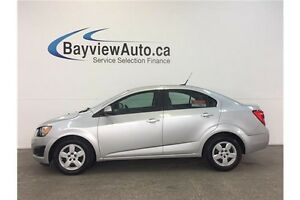 2012 Chevrolet SONIC LS- 1.8L! AUTO! A/C! ON STAR! BUDGET BUDDY!