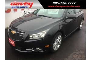 2014 Chevrolet Cruze 2LT SUN ROOF,HEATED SEATS, REMOTE START