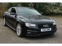 2013 Audi A5 2.0 TDI 177 S Line 2dr ++ LEATHER SAT NAV 1 OWNER COUPE Diesel