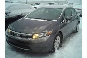 2012 Honda Civic LX | CERTIFIED + E-Tested