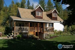 Country charmer on 10 acres, workshop,upgrades in Nakusp 196298