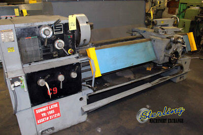16 - 25 X 60 Used Summit Gap Bed Engine Lathe 16x60b A4429