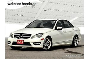 2014 Mercedes-Benz C-Class 4matic AWD, Leather and more!