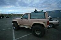 WANTED: Fender flares, visor, tires and rims for Bronco2.
