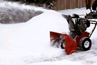 RESIDENTIAL SNOW REMOVAL - 30$ PER DRIVEWAY