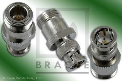 75 Ohm Bnc Male To 75 Ohm N Female Adapter Bracke Bm50492