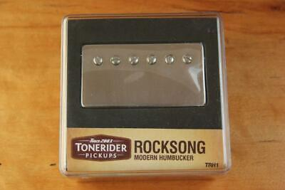 TONERIDER ROCKSONG NECK TRH1 NICKEL PAF ALNICO II HANDBUILT 8k SMOOTH BLUES...